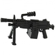 M249 Light Machine Gun (Black) - LEGO Compatible Minifigure Piece