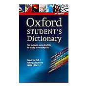 Oxford Student's Dictionary with CD-ROM Third Edition