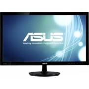 Asus - VS248HR - VS248H Full HD LED monitor - 24 inch - LED - 1920 x 1080 pixeli - 16:9 - 250 cd/m² - 50000000:1 - 1 ms - Dimensiune punct 0.276 mm - Unghi vizibilitate 170/160 ° - D-Sub - DVI - HDMI - Kensington lock - Negru - Trace Free Technology