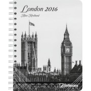 Agenda 2016 - Luxe - London -N/B - Alex Holland - 16,5x21,6 Cm