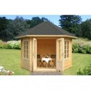 Caseta de madera Hanna 1 de diametro 303 cm. para Jardín