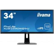 iiyama ProLite XUB3490WQSU-B1 34'UW IPS, 3440x1440, 3H1DP, USB, HAS