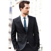 Mens Next Regular Fit Suit Jacket - Navy