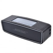 Cosmos Ã'® Black Color PU Leather Protective Cover Case Skin Sleeve Bumper for Bose Soundlink Mini Wireless Bluetooth Speaker