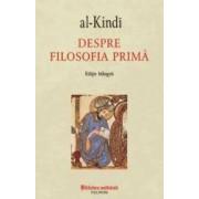 Despre filosofia prima - al-Kindi