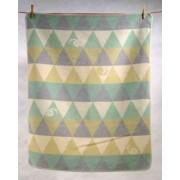 David Fussenegger - Одеяло Juwel 70х90 - Охлюви - зелено