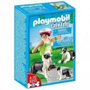 Комплект Плеймобил 5213 - Момиче с колита и малко кученце - Playmobil, 290796