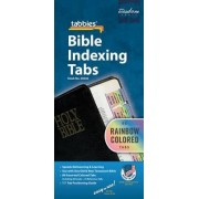 Rainbow Bible Indexing Tabs Old & New Testament by Tabbies
