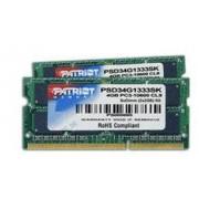 Patriot Memory 8 GB SO-DIMM DDR3 - 1333MHz - (PSD38G1333SK) - Patriot Signature CL9