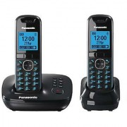 Panasonic KX-TG5521 2 piece Combo 1 line 2 extension EPABX cordless phone