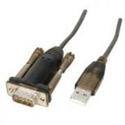 ADAPTADOR USB 20 A SERIE RS232-DB9 MACHO 1 5M