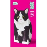 Pop Up Pet Black & White Cat by Roz Streeten