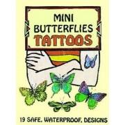 Mini Butterflies Tattoos by Jan Sovak