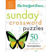 The New York Times Sunday Crossword Puzzles, Volume 36 by The New York Times