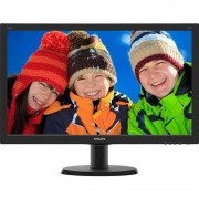 Monitor LED Philips 240V5QDSB/00 23.8 inch 5ms Black