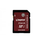Kingston Scheda di Memoria SDA3/256GB SDHC/SDXC UHS-I U3, 256 GB, Nero