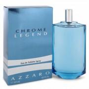 Chrome Legend For Men By Azzaro Eau De Toilette Spray 4.2 Oz
