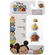 Disney Tsum Tsum Series 3 Lady Tinker Bell & Suzy 1 Minifigure 3-Pack #228 314 & 224