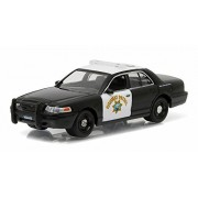 NEW 1:64 GREENLIGHT HOT PURSUIT SERIES 19 ASSORTMENT - WHITE BLACK FORD CROWN VICTORIA POLICE INTERCEPTOR Diecast Model Car By Greenlight by Greenlight