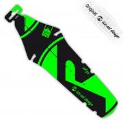 rie:sel design rit:ze Parafango Bright green label verde/nero Parafanghi posteriori
