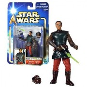 Hasbro Year 2002 Star Wars Collection 1 Attack of the Clones 4 Inch Tall Action Figure #09 - Padme's Head of Security CAPTAIN TYPHO with Blaster Pistol Removable Helmet and Blaster Effect