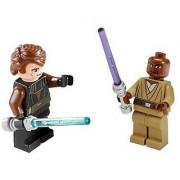 Anakin Skywalker Mace Windu Lego Star Wars Clone Wars Figures