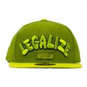 BONÉ OFFICIAL - LEGALIZE - GREEN