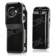 300K Pixel Mini videocamara de la camara con ranura para tarjeta TF - Negro