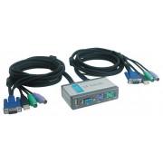 D-Link DKVM-2KU 2 portos CPU switch + USB