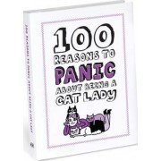 Knock Knock 100 Reasons to Panic About Being a Cat Lady by Gemma Correll
