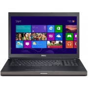 "Laptop Dell Precision M6800 (Procesor Intel® Quad-Core™ i7-4910MQ (8M Cache, up to 3.90 GHz), Haswell, 17.3""FHD, 16GB, 256GB SSD, nVidia Quadro K4100M@4GB, Tastatura iluminata, Wireless AC, Win7 Pro 64 + Win8.1 Pro 64)"