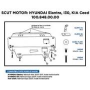 Scut Motor Metalic Hyundai. Kia