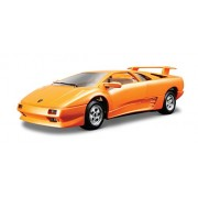 Bburago 15622086 - Bijoux, Modellino Lamborghini Diablo in scala 1:24, assortiti