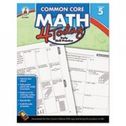 - Common Core 4 Today Workbook, Math, Grade 5, 96 pages