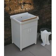 Lavatoio per esterno in Ceramica Onda 60x50