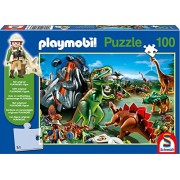 In Dino Country Playmobil Jigsaw Puzzle 150-Piece