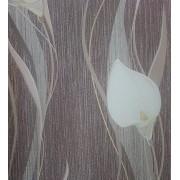 Хартиени тапети дуплекс Алмапласт 'Кала' цвят кафяв