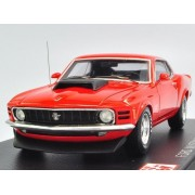 Post Hobby Spark 1/43 Ford Mustang Boss 429 1970 Red From Japan