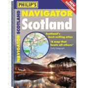 Wegenatlas - Atlas Navigator Scotland | Philip's
