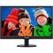 Monitor Philips 193V5LSB2/10 18.5 inch Negru