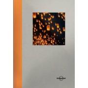 Reisdagboek oranje - groot Notebook   Lonely Planet
