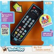 Tech Too - S13880 - Jeu Educatif Electronique - Télécommande Educative Bilingue