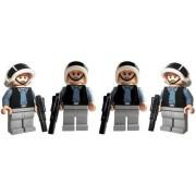 Rebel Trooper Army (4) - LEGO Star Wars Figures