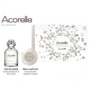 Set Cadou Vanille Gardenia Dama Acorelle 50ml+100gr