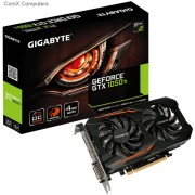 Gigabyte nVidia GeForce GTX 1050 Ti OC 4Gb/4096mb DDR5 128bit Graphics Card