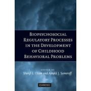 Biopsychosocial Regulatory Processes in the Development of Childhood Behavioral Problems by Sheryl Olson