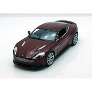 Welly Aston Martin Vanquish 1/24 Scale Diecast Model Car Maroon