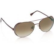 Fendi FS 5173-210 Aviator Sunglasses(Brown)