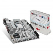 Micro-Star International MSI H270M Mortar Arctic Intel Socket 1151 mATX Motherboard