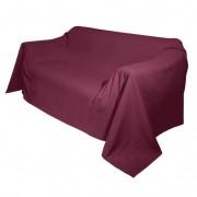 Bio-foulard, bourgogne 135 x 210 cm